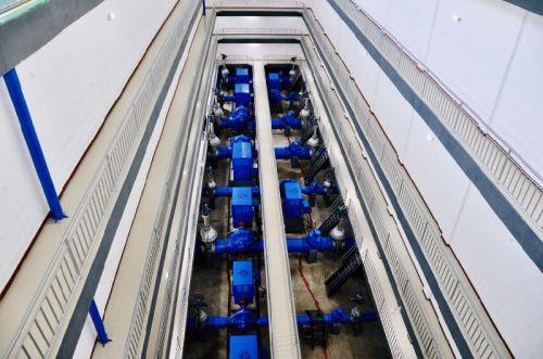18座泵站均实现微机控制保护