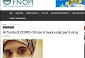 意大利又一名护士自杀,死前曾被确诊,该国已有超5000名医护感染