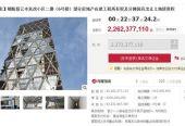 6万人围观北京中弘大厦超22亿开拍 两人参拍一人报价