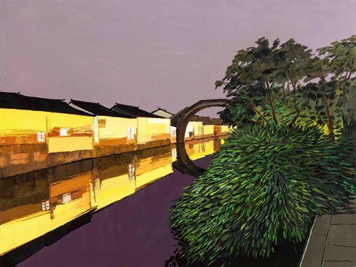 南浔弘济桥 尺寸150x200cm 2014年
