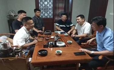 拜访丽水驻杭州商会企业