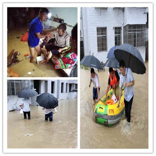 江西万龙山:洪灾一线,党徽熠熠闪光