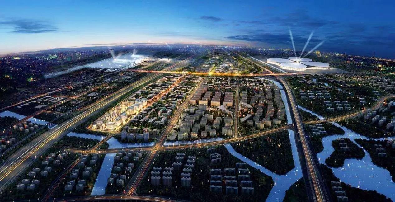 虹桥商务区2020年首个租赁住房项目成功封顶