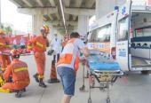 汕頭市潮南區舉行道路交通事故應急救援演練活動