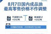 上海快3APP:8月7日国内成品油价格不作调整
