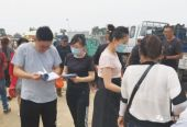 辽宁北镇农产品质量安全宣传走进乡村集市和田间地头