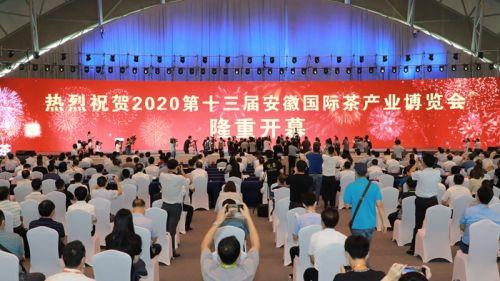 第十三届安徽国际茶产业博览会开幕