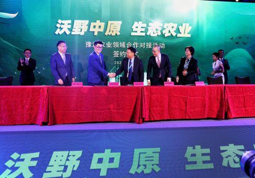 河南省农业农村厅与拼多多战略签约,开启豫沪农业合作新篇章