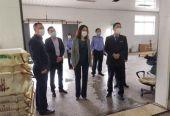青岛崂山市场监督管理局督导检查冷链食品企业疫情防控工作