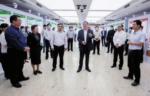 2020年9月23日上午,国家粮食和物资储备局举办第一届公文展开幕式。中国经济导报记者苗露/摄