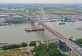 上海闵浦三桥正式通车 非机动车行人过江预计年底开放