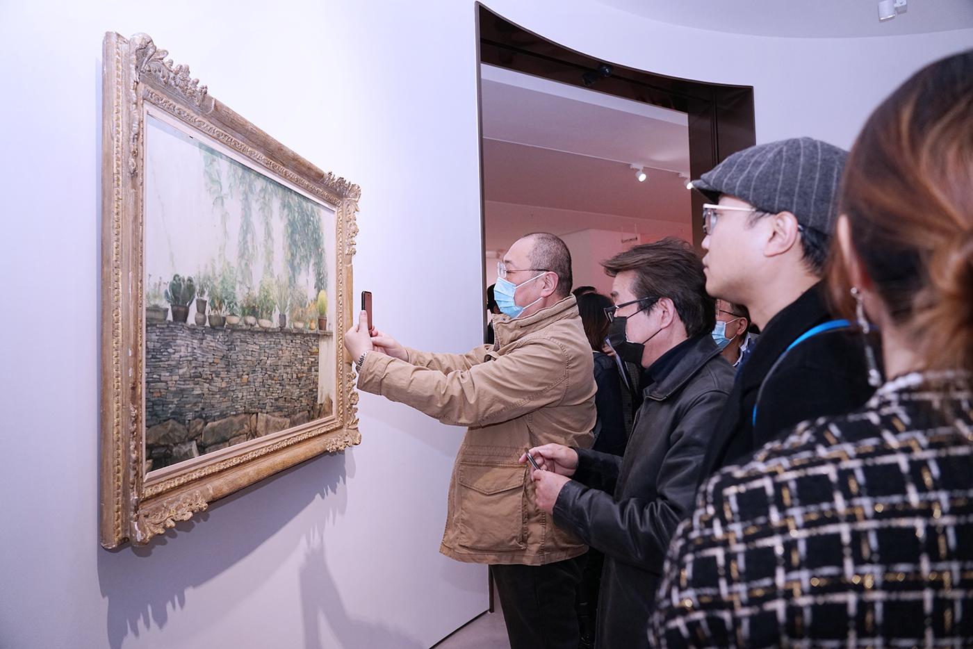 金臣·亦飞鸣美术馆正式开馆迎客。