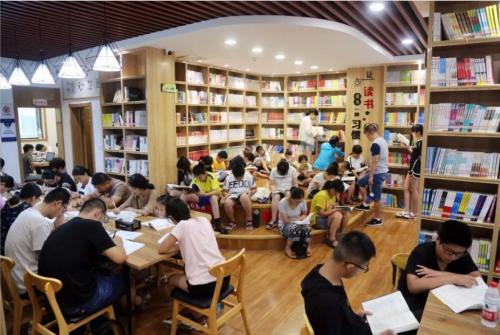 书房一角。供图:新泰市委宣传部