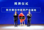 中醫藥產業基地在奉揭牌