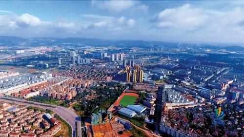 产城融合发展的曲靖经济技术开发区全景