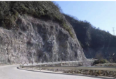 湖北鹤峰县省道341边坡治理工程已完成85%