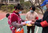 广州南沙横沥镇开展2021年春节期间反邪教宣传活动