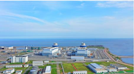图为海阳核电站。摄影:姜立波