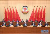 全国政协十三届常委会第十五次会议开幕 汪洋出席