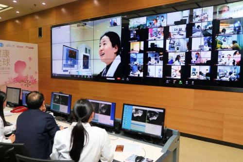 国内外120余家医院远程交流
