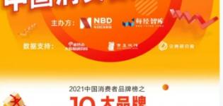 """为美好生活赋能 格力获评""""2021中国消费者品牌榜十大品牌"""""""