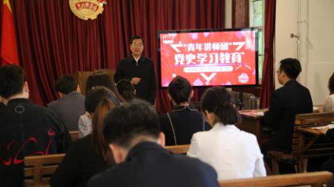 """山东共青团广泛开展""""学党史、强信念、跟党走""""五四主题活动"""