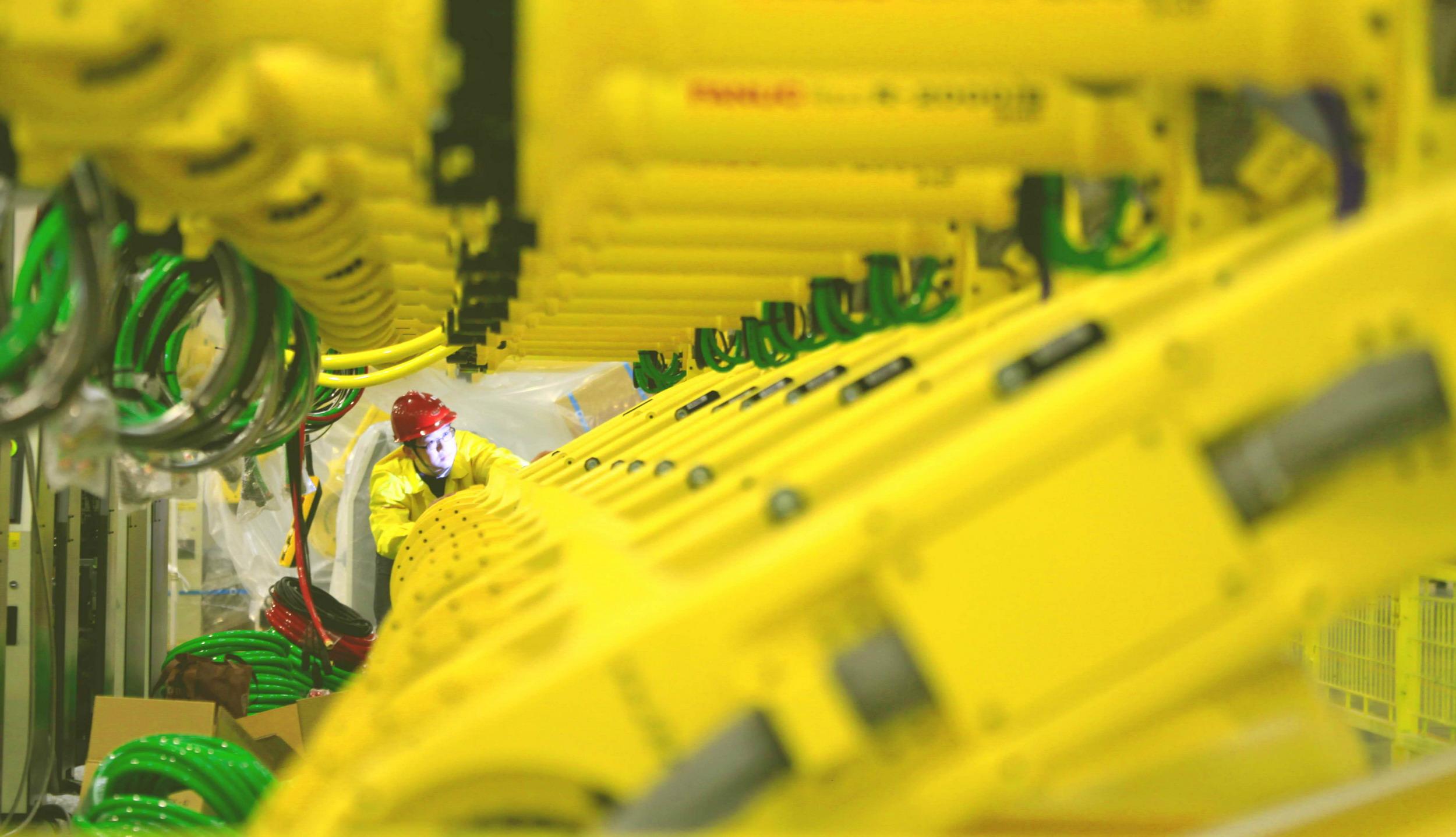 位于上海机器人产业园的高新技术企业