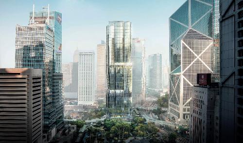 """恒基地产旗下香港中环美利道项目,以紫荆花花蕾为概念,宛如在城市之中建起一座巨型艺术雕塑。项目目前已荣获""""国际 WELL健康建筑研究所""""颁发的 WELL 健康建筑标准认证白金级前期认证,和领先能源与环境设计(LEED)白金级前期认证。恒基地产香港美利道项目由世界驰名的""""扎哈·哈迪德建筑事务所""""设计,效果图由Arqui9制作。"""