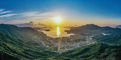 深圳国际生物谷坝光片区。