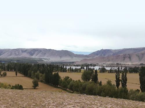 援疆牧场艺术家小镇将在此建设。张芸 摄