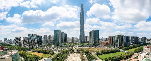 美丽的天津滨海新区。中共天津滨海新区区委宣传部 供图