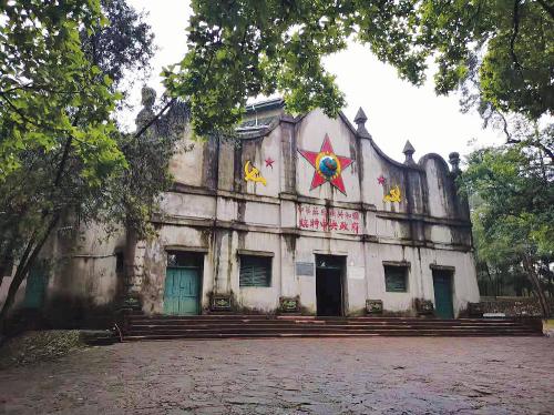 江西瑞金中华苏维埃共和国临时中央政府旧址。中国经济导报记者程晖 摄