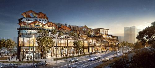 旭日在惠州西湖畔发展的商场项目:西湖壹城。