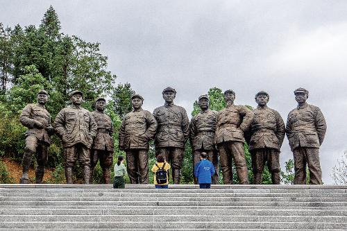 三明市建宁县在第二次国内革命战争时期,是中央苏区21个重点县之一,八大元帅的珍贵合影就是在这里拍摄的。中国经济导报记者苗露 摄