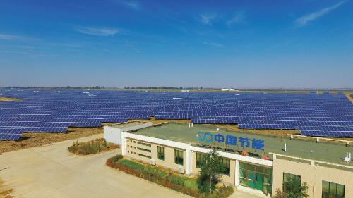 中节能武威160MW 光伏并网发电项目。