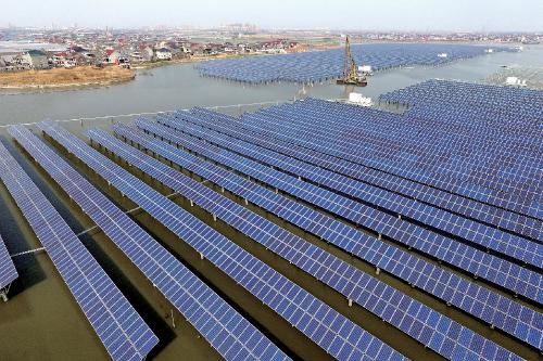 """中节能嘉兴""""五水共治""""30MW 光伏发电示范项目。"""