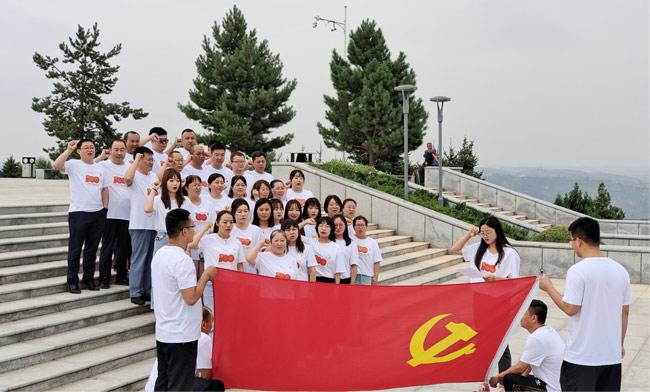 陕西清涧县发改科技局开展主题党日活动